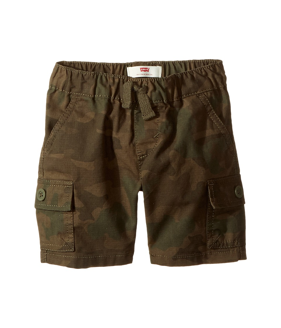 Levis(r) Kids - Belcrest Cargo Shorts (Infant) (Olive Night/Forest Nigtht Camo) Boys Shorts