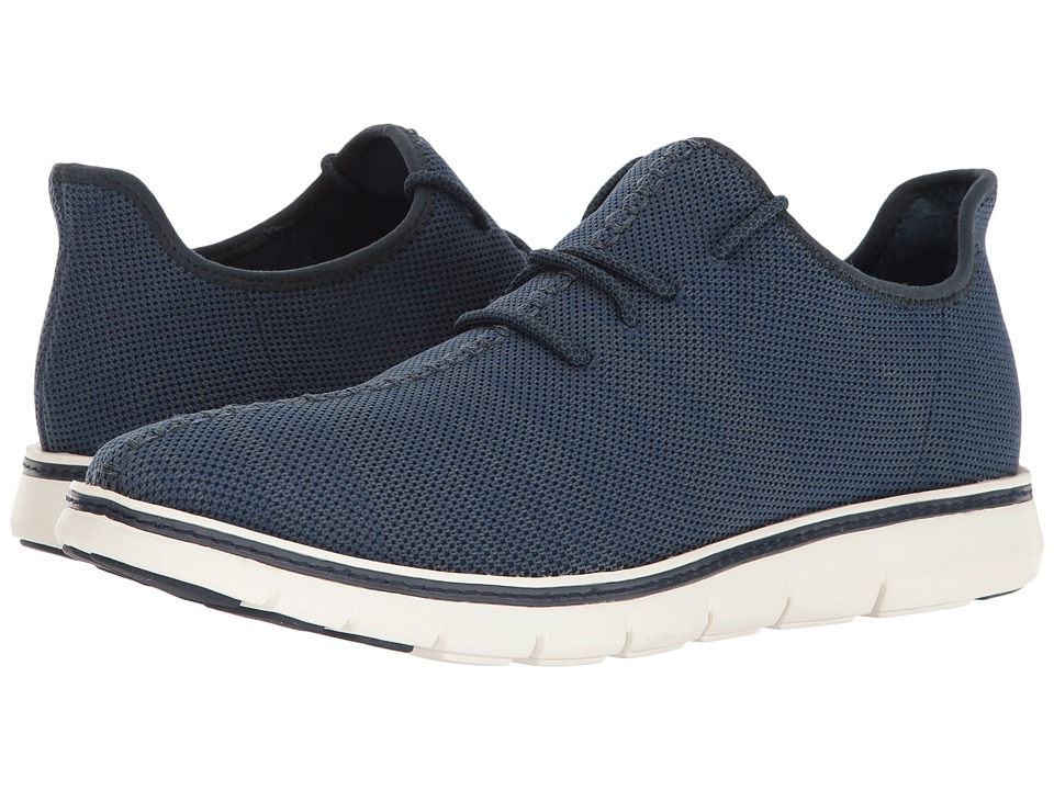 Mark Nason Royce (Navy Flat Knit/Gray Welt/Gray Bottom) Men