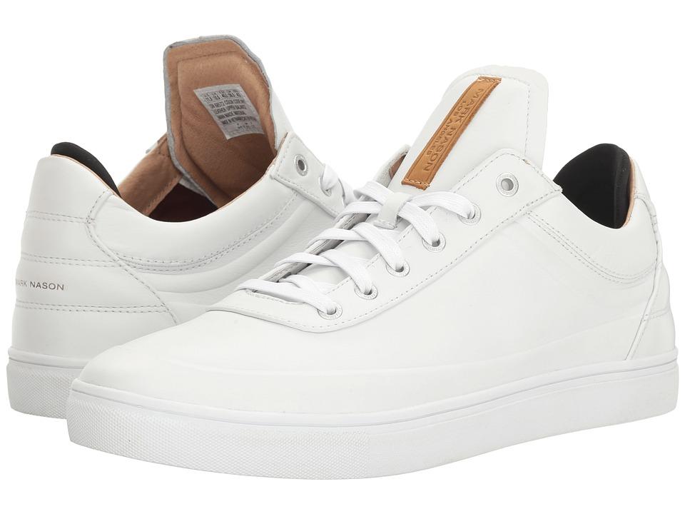 Mark Nason - Canter (White Leather) Men's Shoes