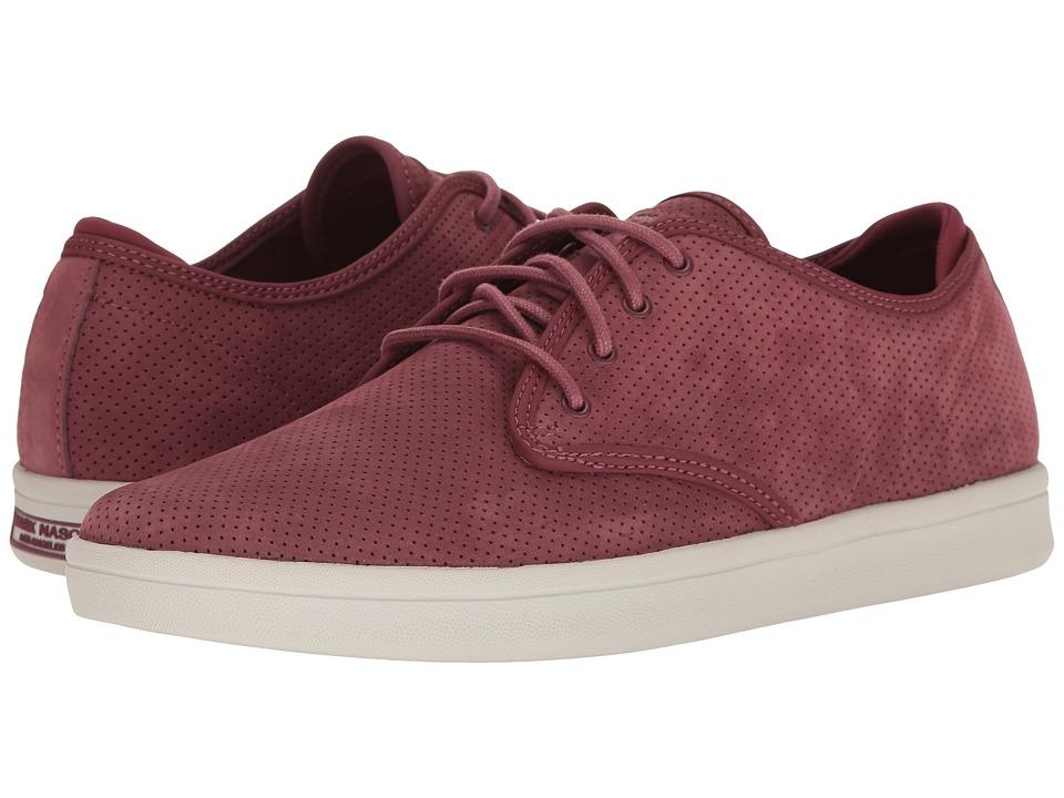 Mark Nason Belmont (Burgundy Perf Nubuck) Men's Shoes