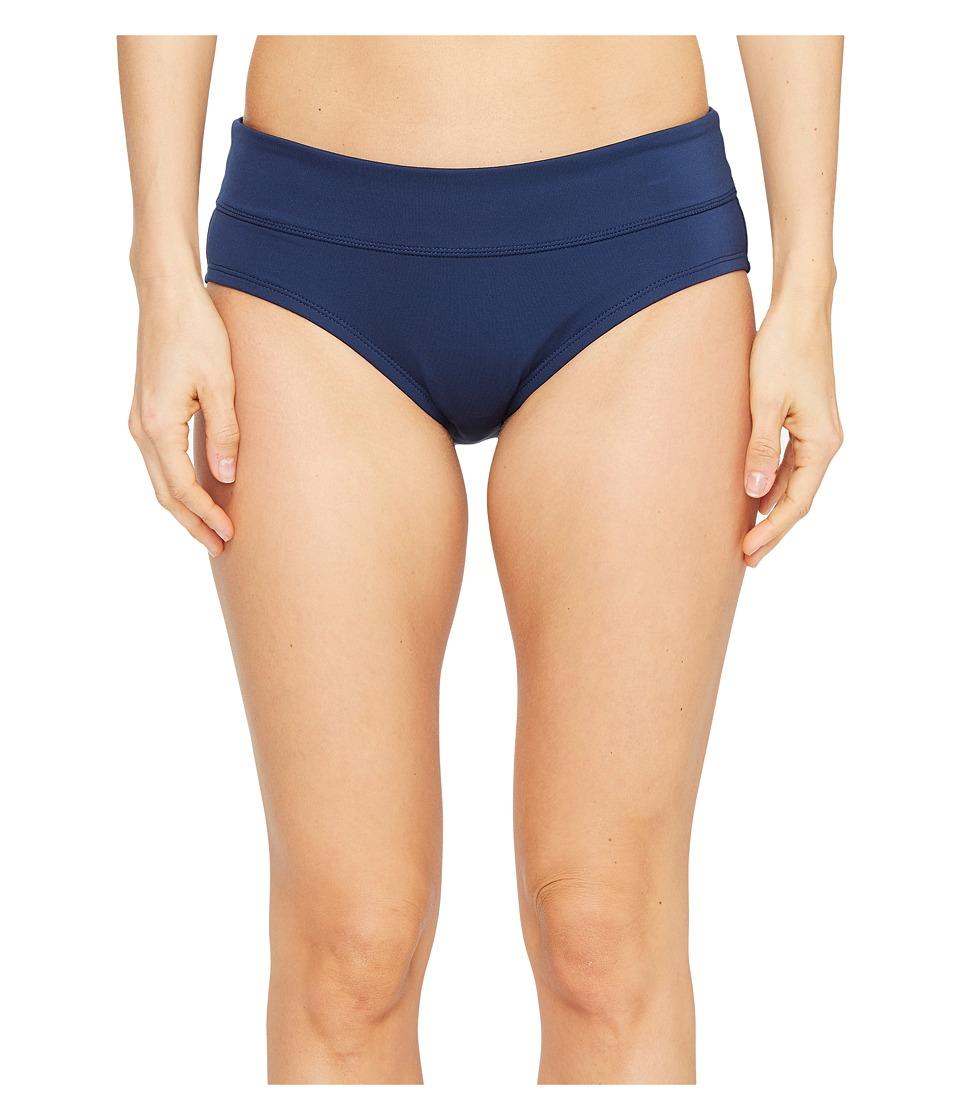 Nike Solids Mod Brief (Midnight Navy) Women's Swimwear