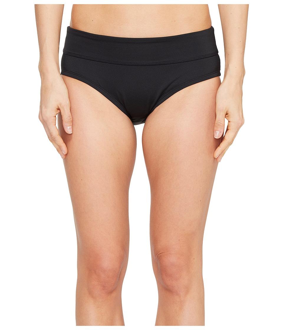 Nike - Solids Mod Brief (Black) Women's Swimwear