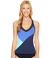 Nike - Color Surge V-Back Tankini Top