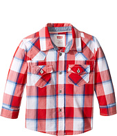Levi's® Kids - Barstow Western Plaid Shirt (Infant)