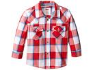 Levi's(r) Kids Barstow Western Plaid Shirt (Infant)