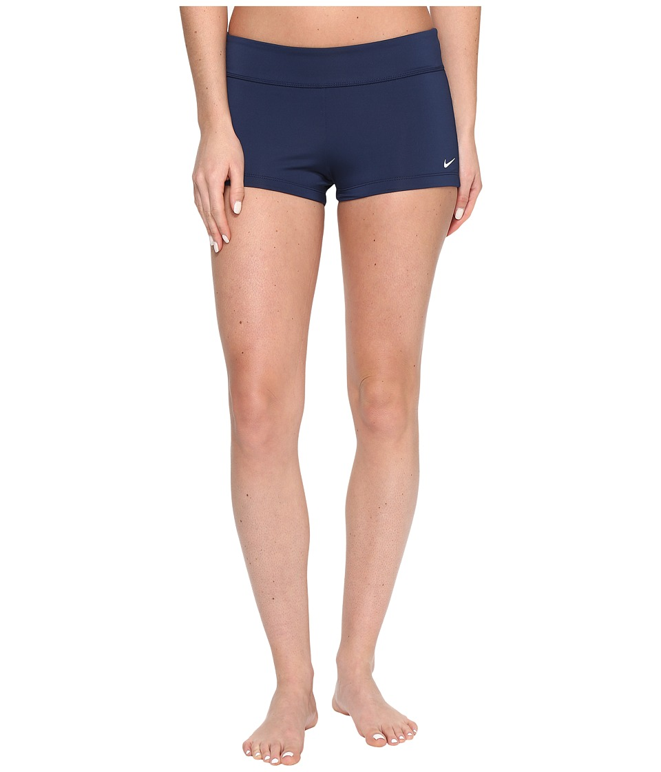 Nike Core Solid Kick Shorts (Midnight Navy) Women's Swimwear