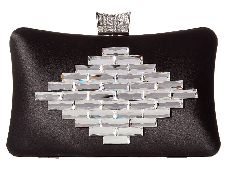 Badgley Mischka Aero (Black) Clutch Handbags