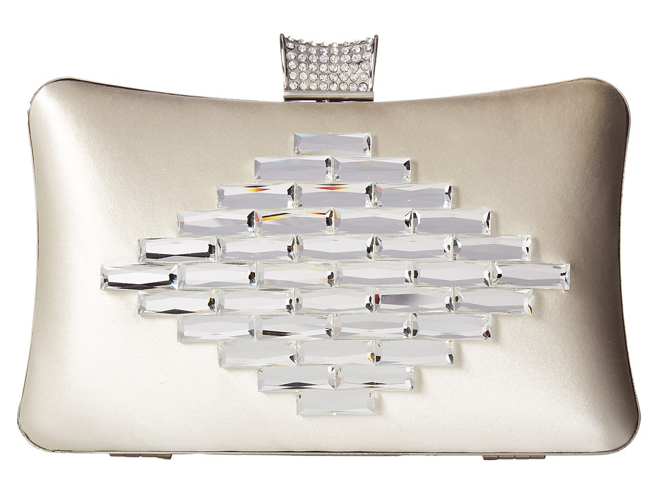Badgley Mischka Aero (Ivory) Clutch Handbags