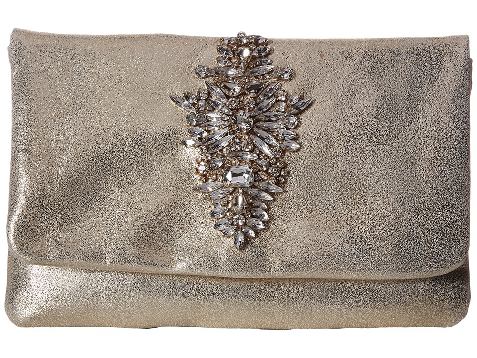 Image of Badgley Mischka - Abby (Gold) Clutch Handbags