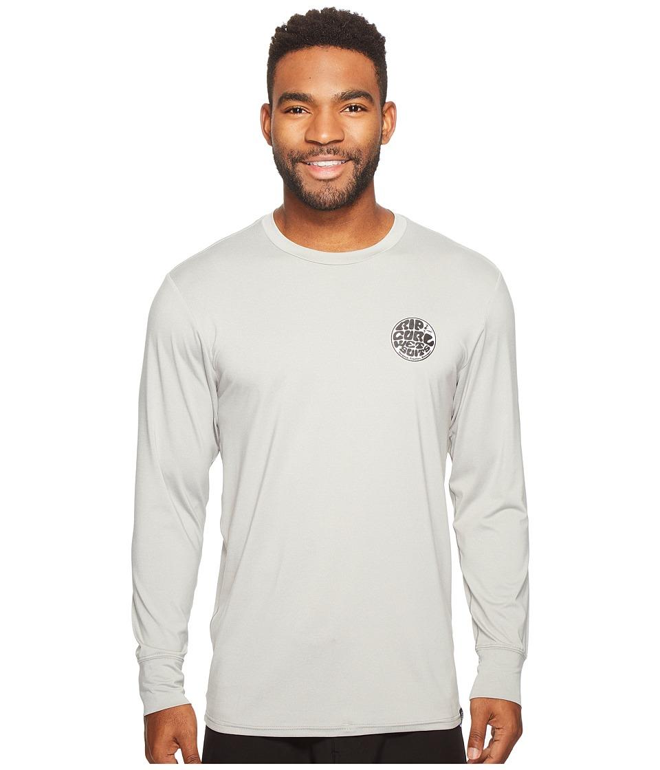 Rip Curl Aggrolite Surf Shirt Long Sleeve (Grey) Men