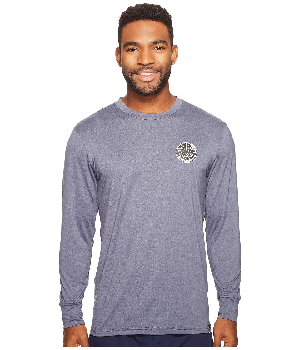 Rip Curl Aggrolite Surf Shirt Long Sleeve (Navy) Men