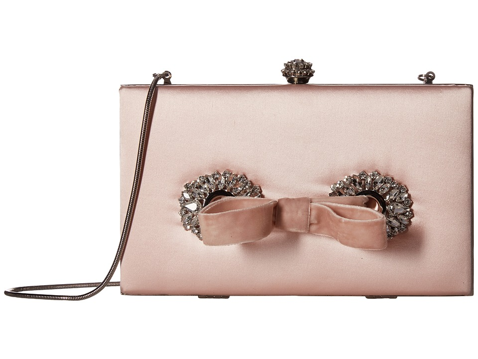 Badgley Mischka Autumn (Light Pink) Clutch Handbags