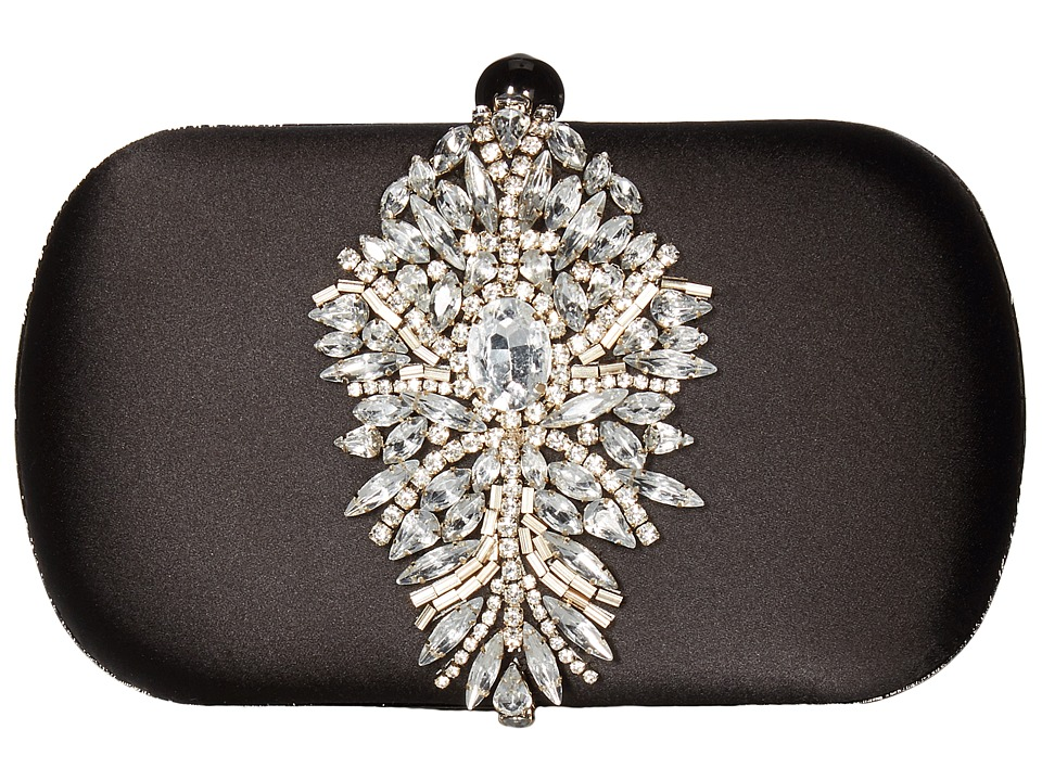 Badgley Mischka Aurora (Black) Clutch Handbags