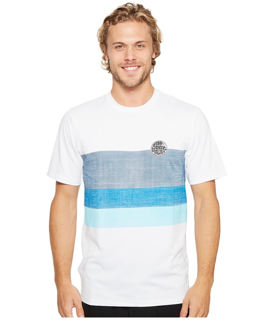 Rip Curl Surf Craft Surf Shirt Short Sleeve (White) Men