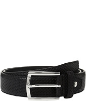 BUGATCHI - Nero Perforated Belt