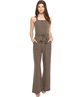 Adelyn Rae - Sleeveless Jumpsuit Tie Waist
