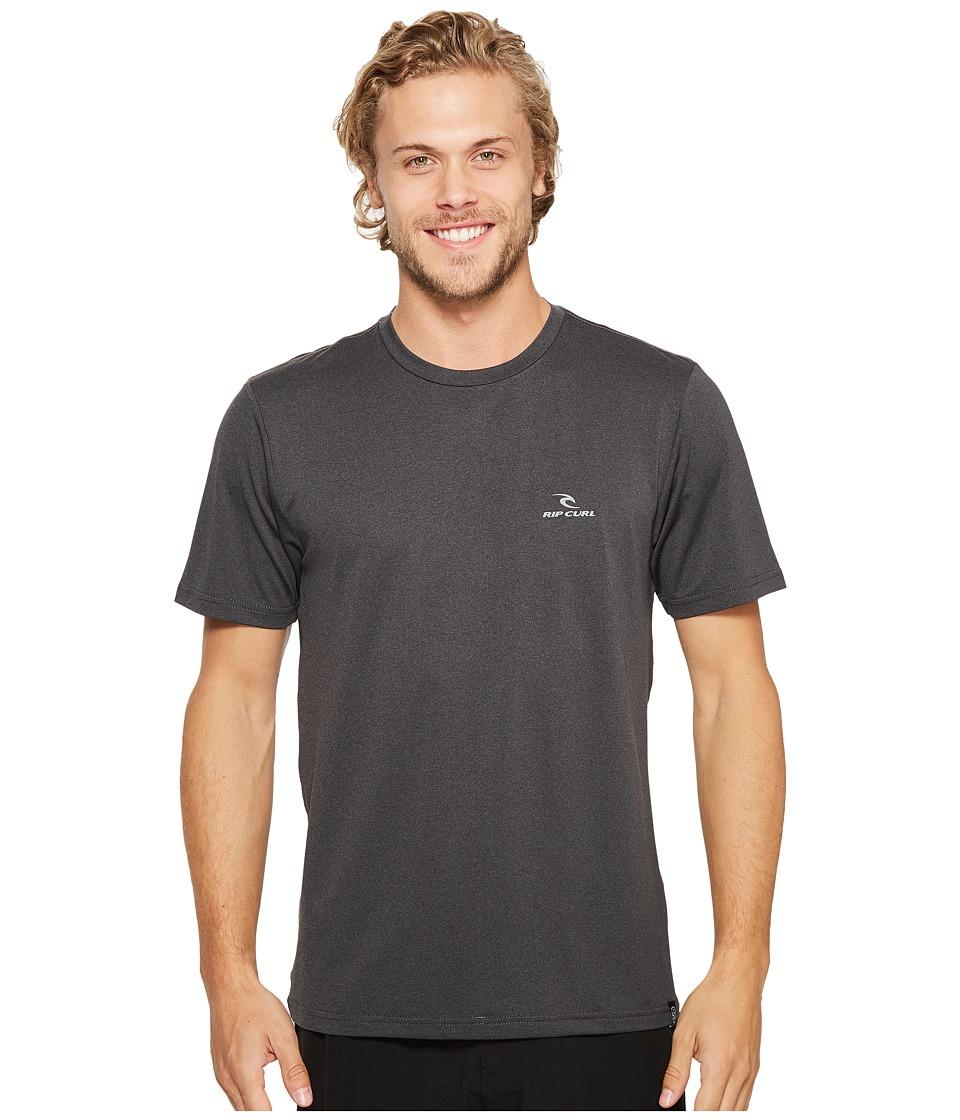 Rip Curl Search Series Short Sleeve (Black) Men