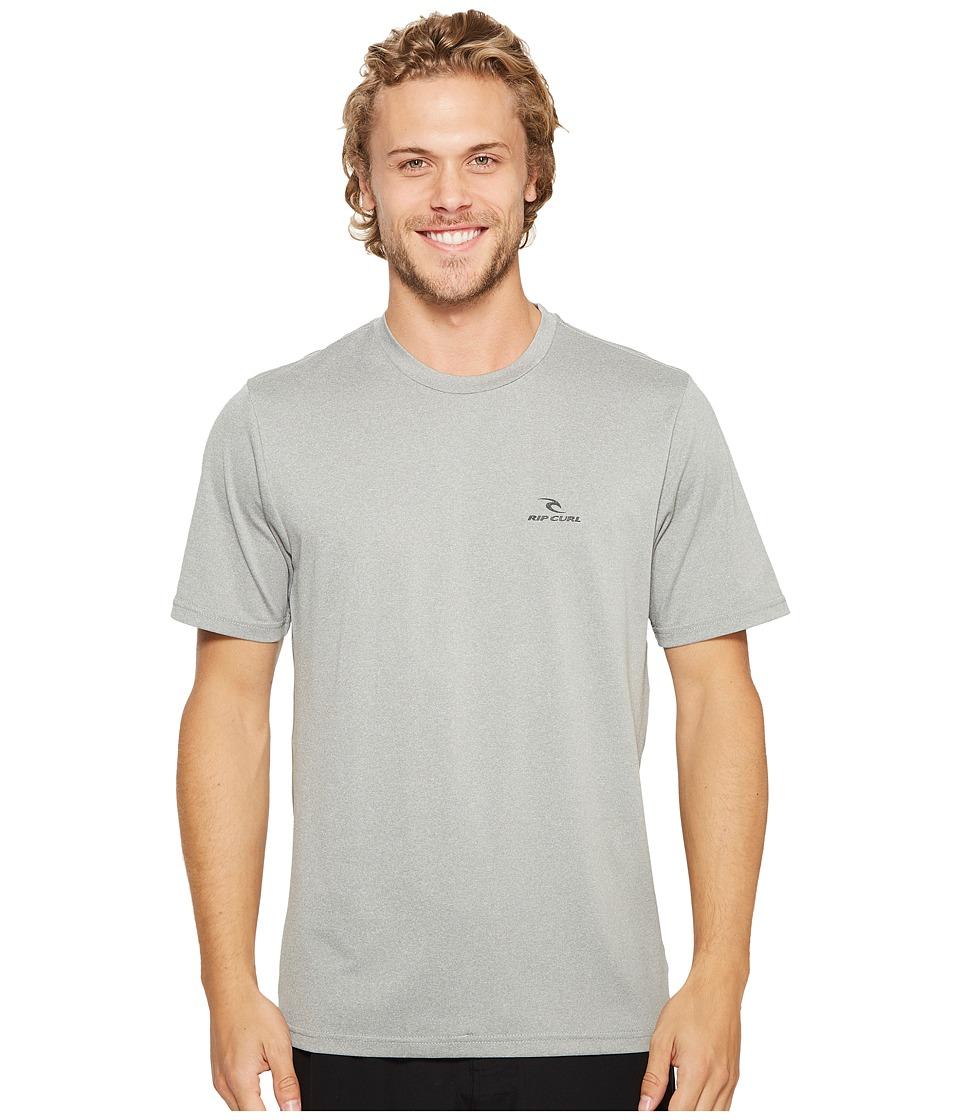 Rip Curl Search Series Short Sleeve (Grey) Men