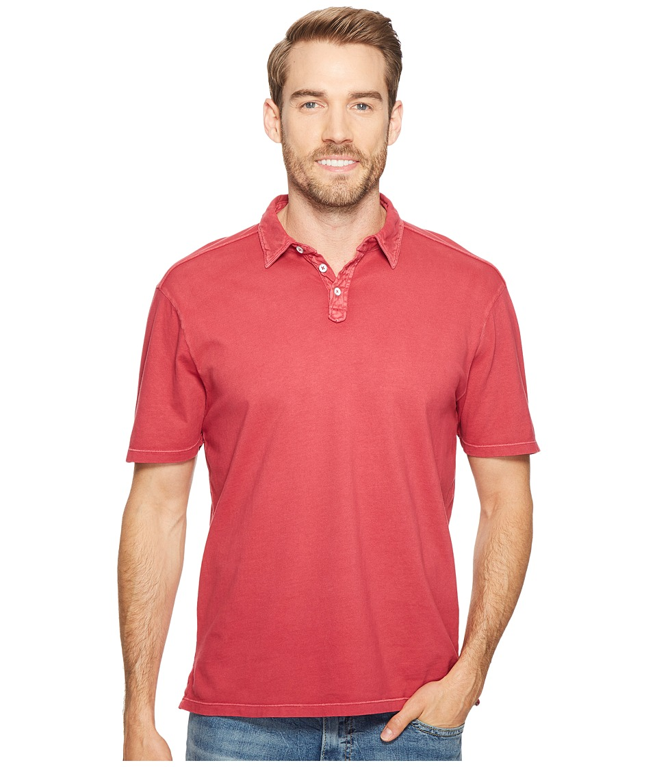 True Grit - Laguna Short Sleeve Polo w/ Stitch Detail