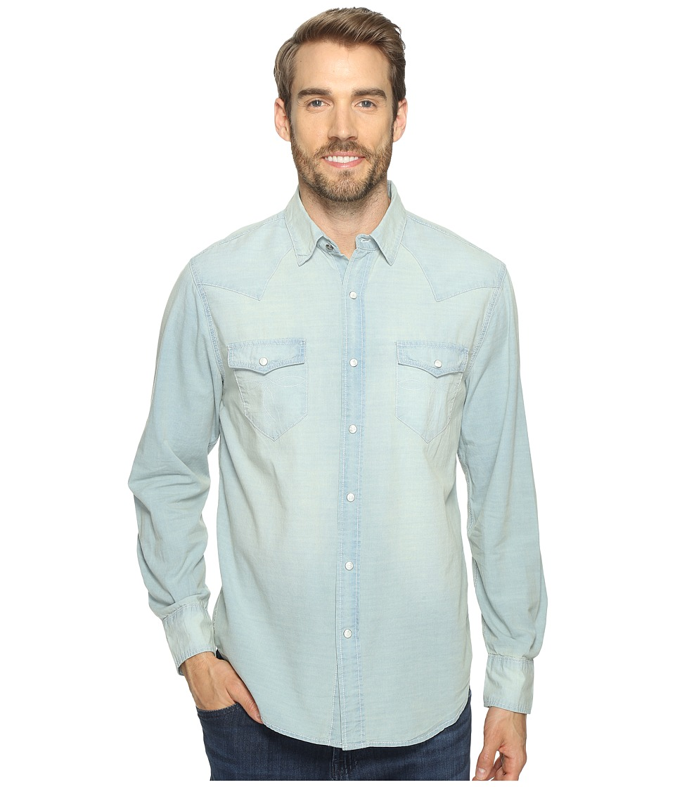 True Grit - Long Sleeve Western Shirt w/ Hand Treated Wash