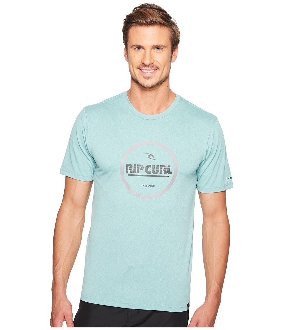 Rip Curl Search Series Graphic Short Sleeve (Aqua) Men