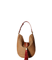 Badgley Mischka - Bailey Straw Hobo