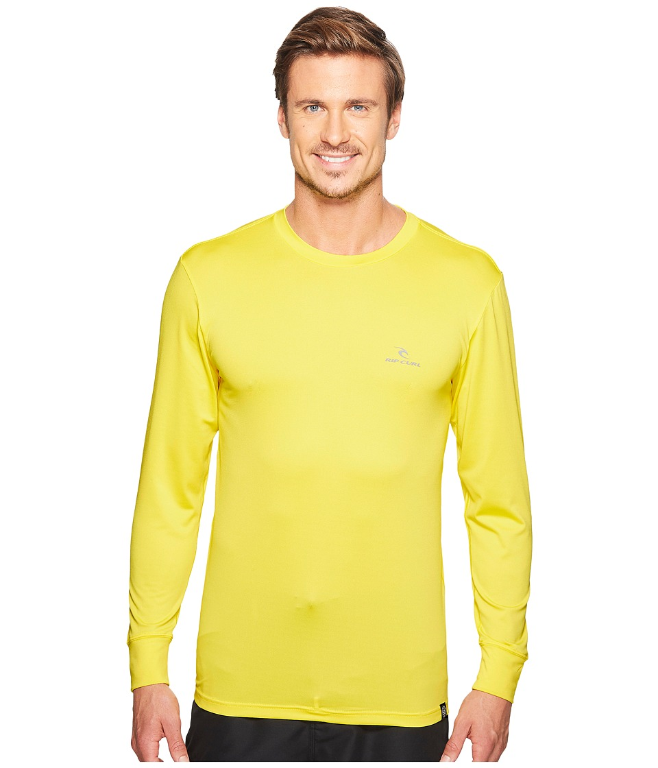 Rip Curl Search Series Long Sleeve (Yellow) Men