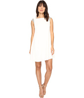 Aidan Mattox - Trapeze Crepe Cocktail Dress with Beaded Shoulder Detail