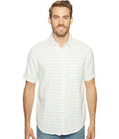 True Grit - Indigo Surf Plaid Short Sleeve Shirt