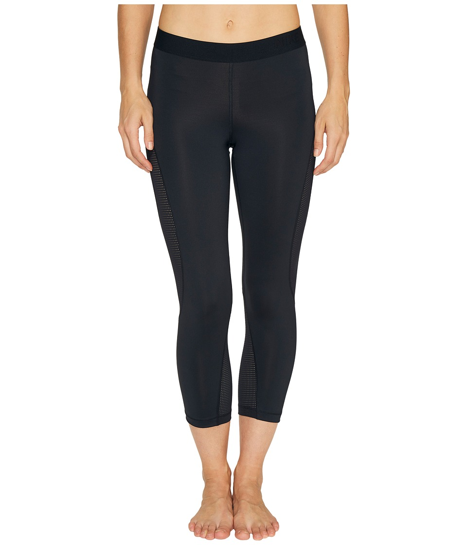 Nike Pro Hypercool Training Capri (Black/Pure Platinum) Women