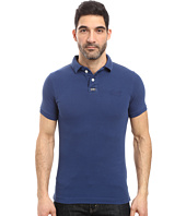 Superdry - Vintage Destroy Short Sleeve Pique Polo