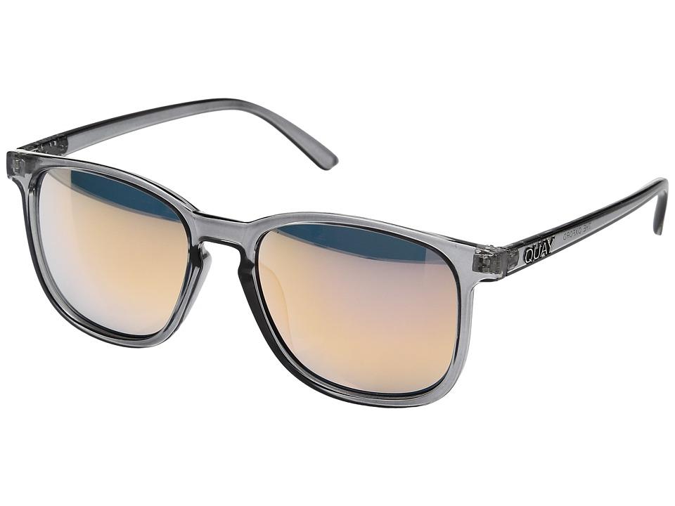 QUAY AUSTRALIA The Oxford (Grey/Pink) Fashion Sunglasses