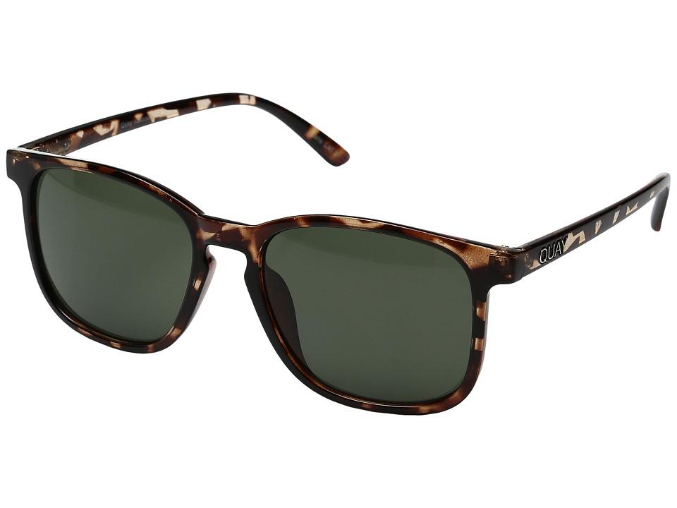 QUAY AUSTRALIA The Oxford (Tortoise/Green) Fashion Sunglasses