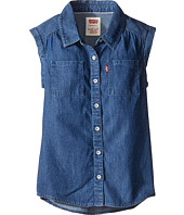 Levi's® Kids - Rolled Sleeve Short Sleeve Denim Top (Big Kids)