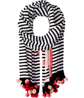 Kate Spade New York - Monkey Rose Oblong Scarf