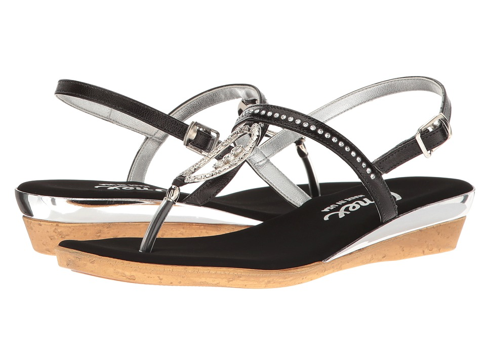 Onex - Rolo (Black) Women's Sandals