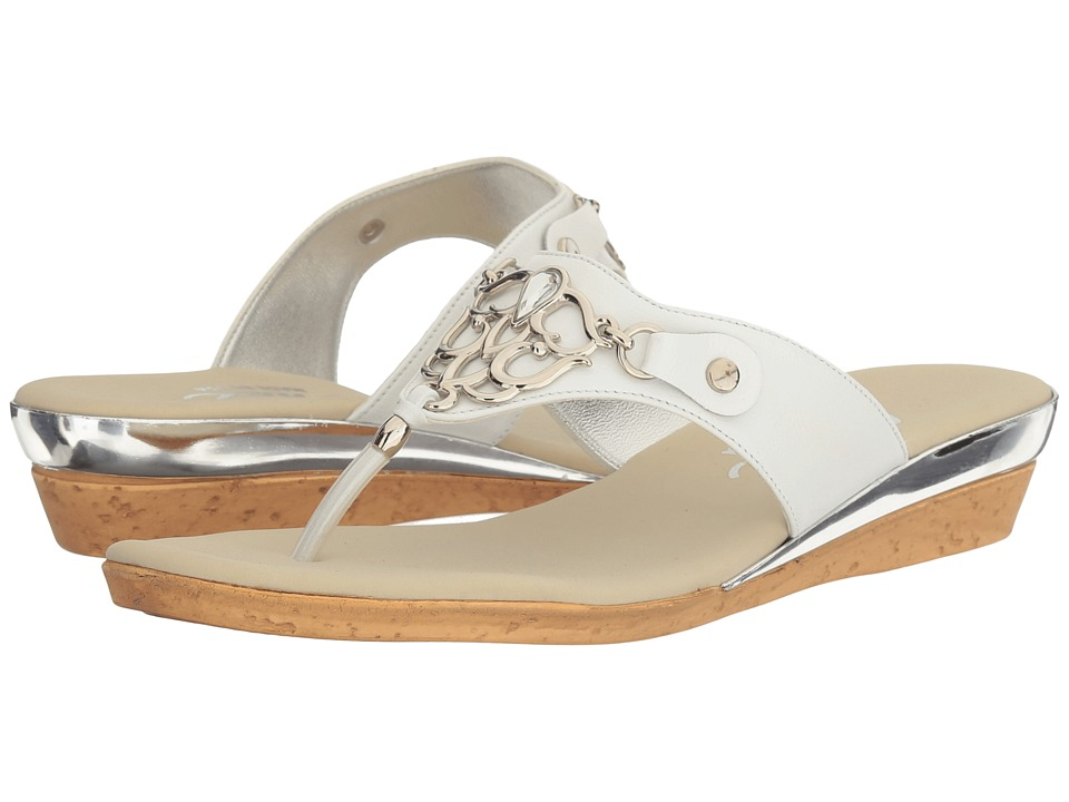 Onex - Raindrop (White) Women's Sandals
