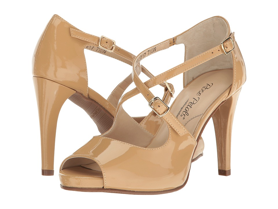 Walking Cradles Lissa (Nude Patent) High Heels