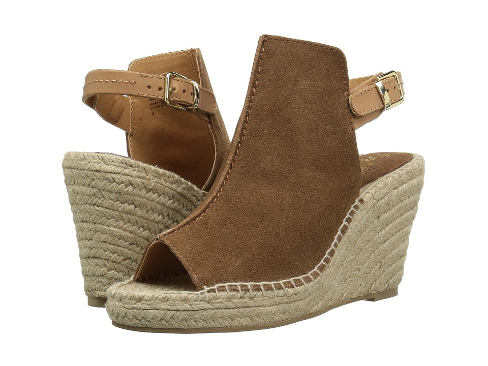 Seychelles - Charismatic (Cognac Suede) Womens Wedge Shoes