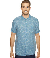 True Grit - Floral Lux Linen Short Sleeve One-Pocket Shirt