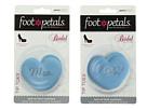 Foot Petals Mrs. and I Do Heart Tip Toes Bridal Cushion Kit