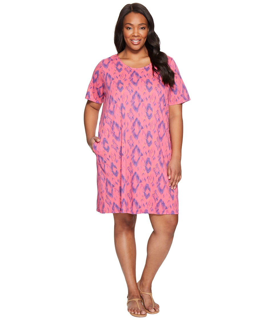 Extra Fresh by Fresh Produce - Plus Size Sunset Sky Allure T