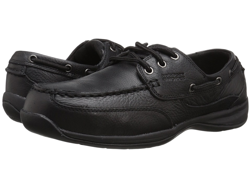 Rockport Works - Sailing Club (Black) Mens Work Boots