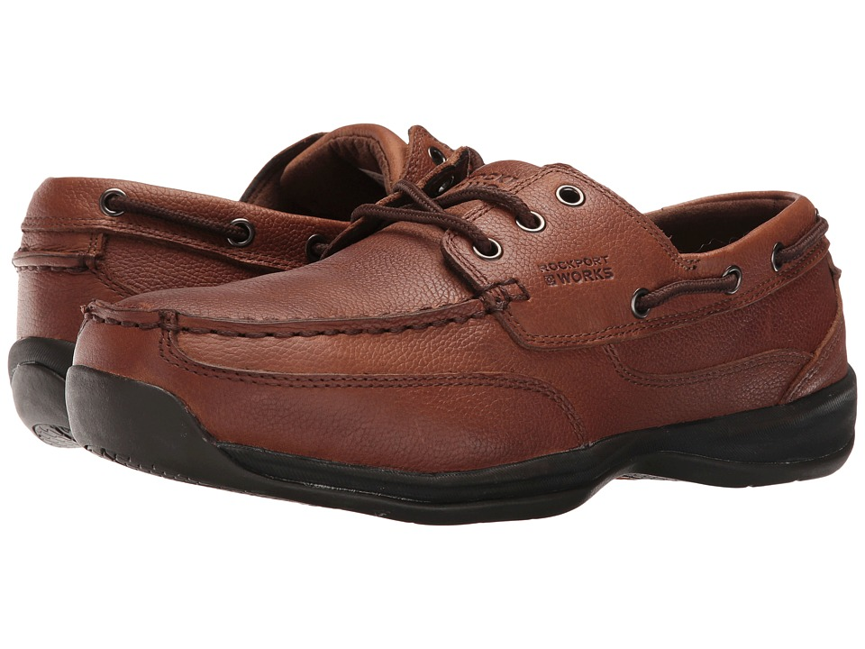 Rockport Works - Sailing Club (Dark Brown) Mens Work Boots