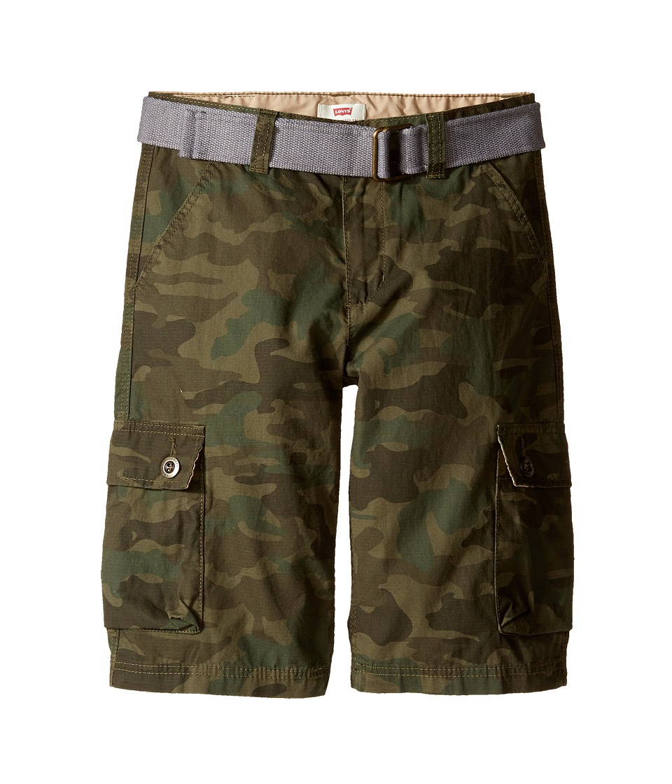 Levis(r) Kids - Westwood Cargo Shorts (Big Kids) (Camo) Boys Shorts