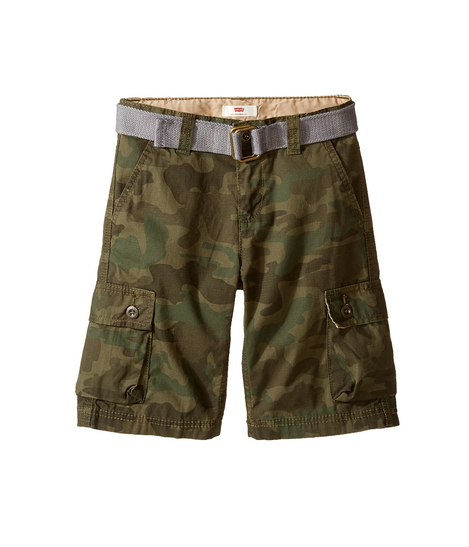 Levis(r) Kids - Westwood Cargo Shorts (Little Kids) (Camo) Boys Shorts