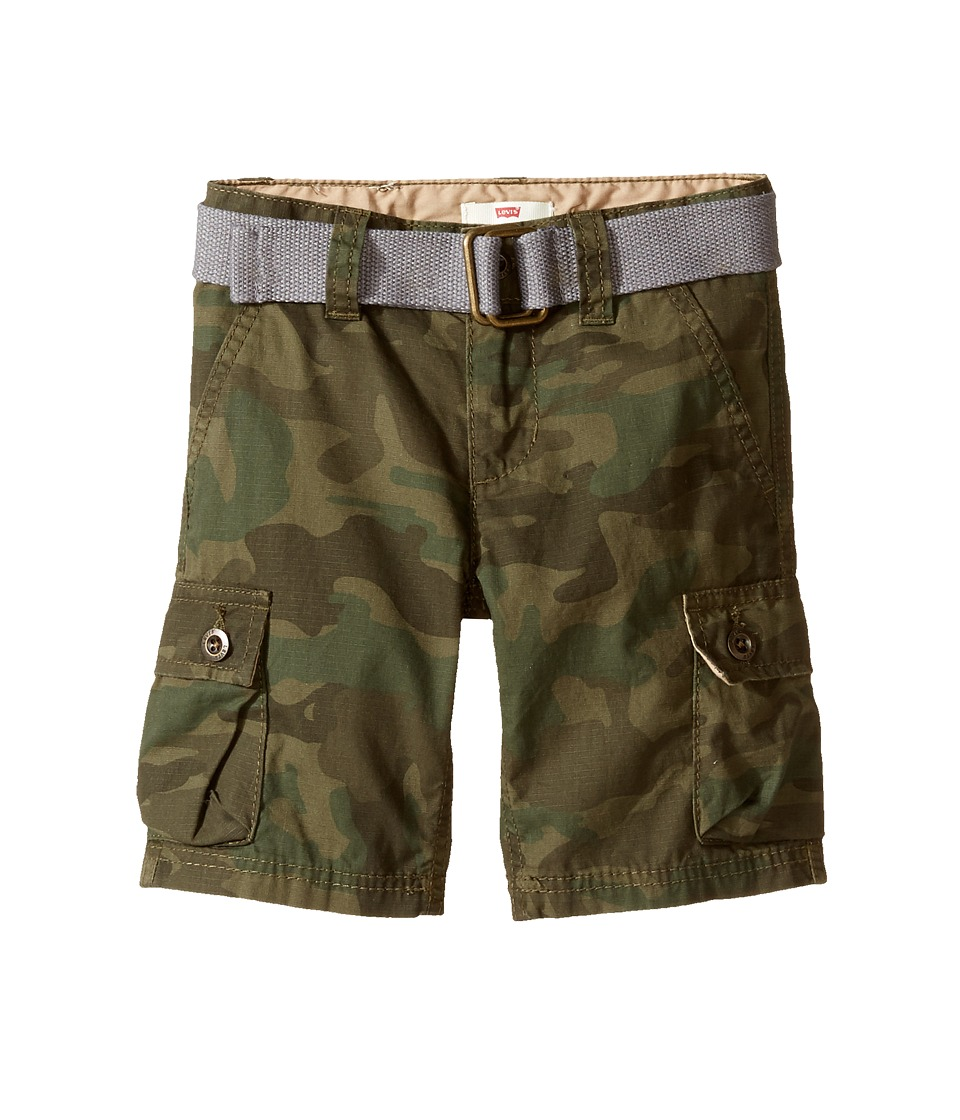 Levis(r) Kids - Westwood Cargo Shorts (Toddler) (Camo) Boys Shorts