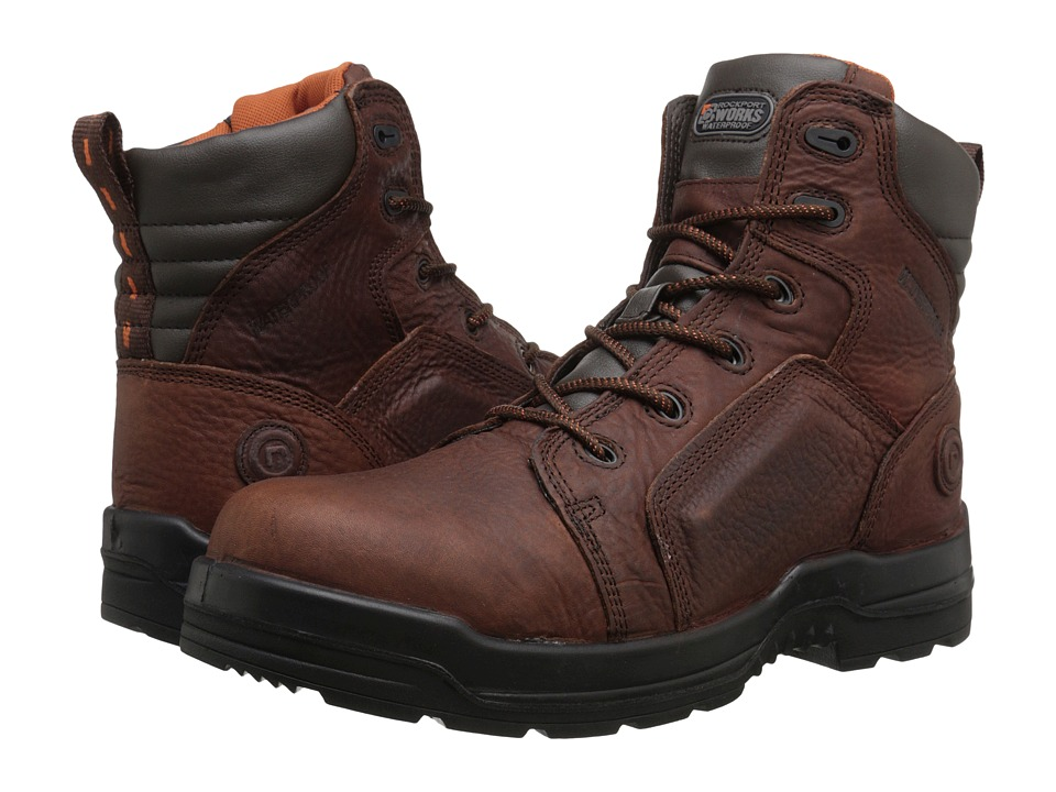 Rockport Works - More Energy (Brown) Mens Work Boots