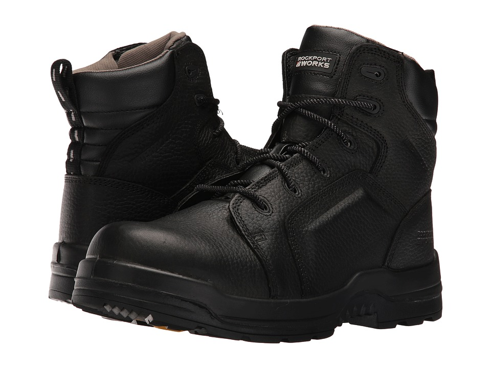Rockport Works - More Energy (Black) Mens Work Boots