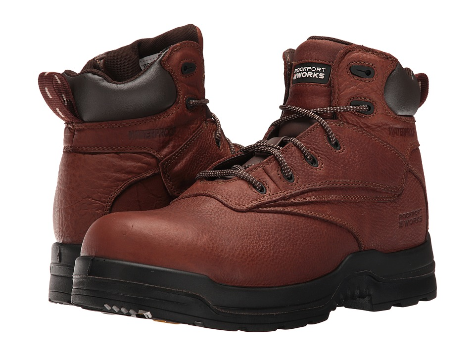 Rockport Works - More Energy (Deer Tan) Mens Work Boots